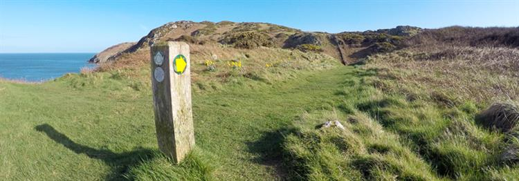 Coastal Path Signpost
