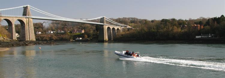 Rib Ride Menai Bridge